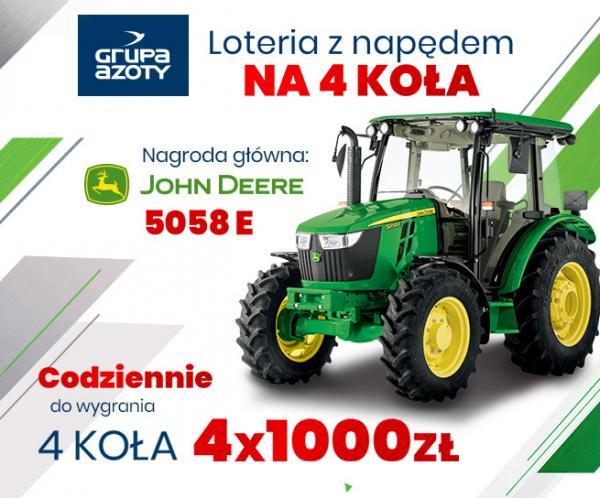 Agencja UNIQUE ONE organizuje loterię  dla Grupy Azoty