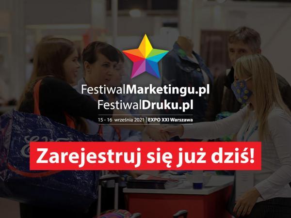 Ruszyła bezpłatna rejestracja dla zwiedzających na 13. edycję targów FestiwalMarketingu.pl & FestiwalDruku.pl