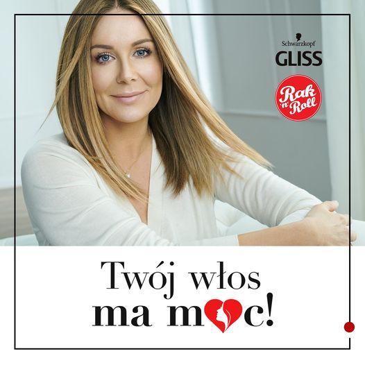 Albedo: start akcji Gliss z Małgorzatą Rozenek - wsparcie Fundacji Rak & Roll