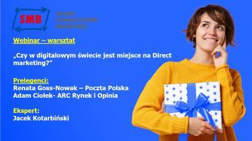 Czy w digitalowym świecie jest miejsce na direct marketing?- Webinar